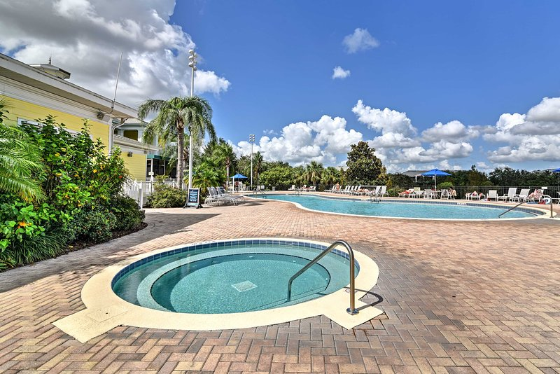 Create amazing family memories as you stay at this 3-bed vacation rental condo.