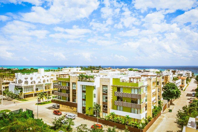 vista aérea de la Residences Klem
