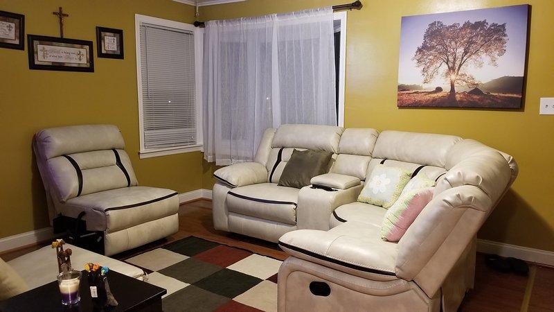 sala de estar delante