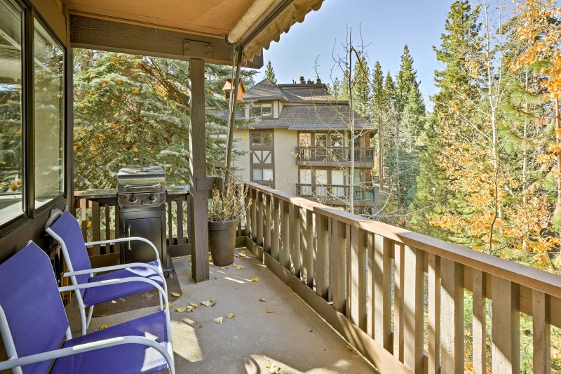 Enjoy landscape views from this vacation rental condo in Incline Village.
