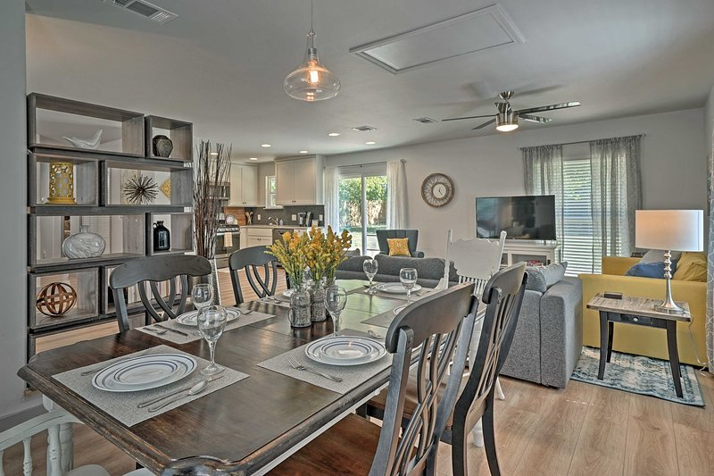 Explore Georgetown from this 3-bedroom, 1-bathroom vacation rental home!
