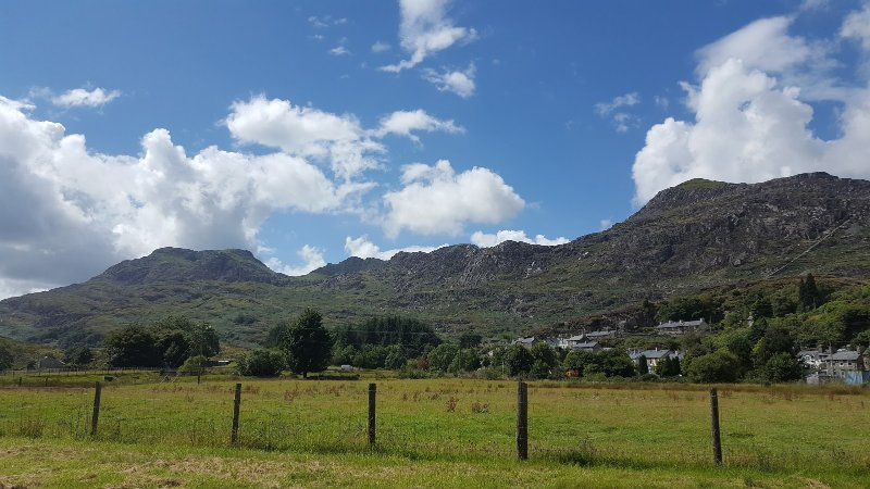 The ' Moelwyns'.