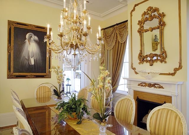 Elaborate Dining Room table for 12
