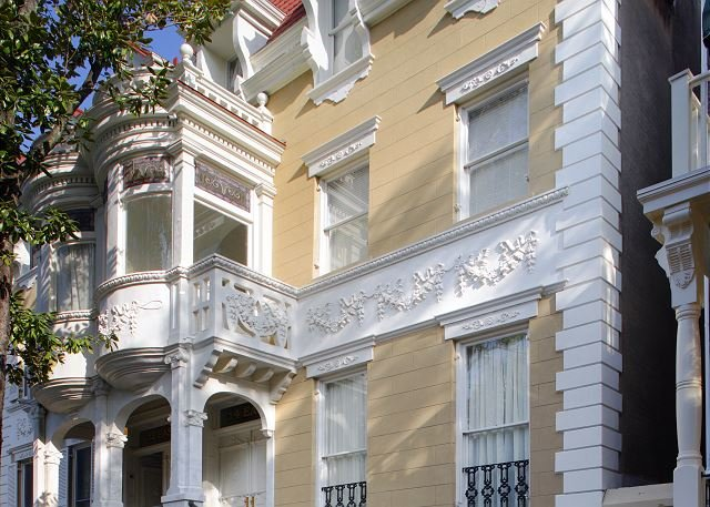Luxus Living Savannah Hochzeitstorte Mansion in 14 E. Taylor St.