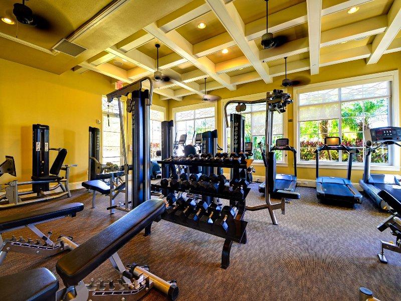 Centro fitness presso il Mandalay Beach Club