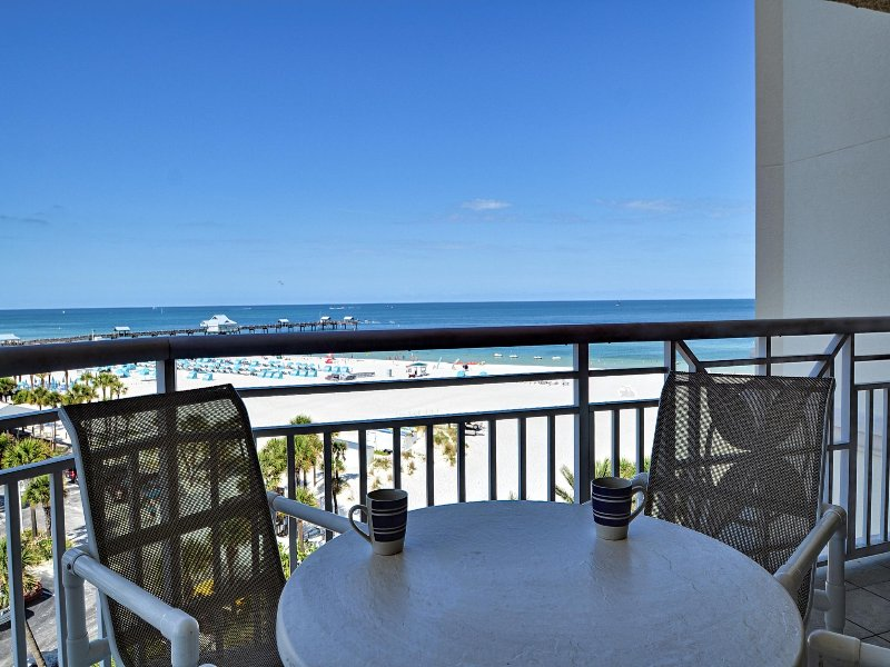 Enjoy morning coffee or evening cocktails with remarkable views
