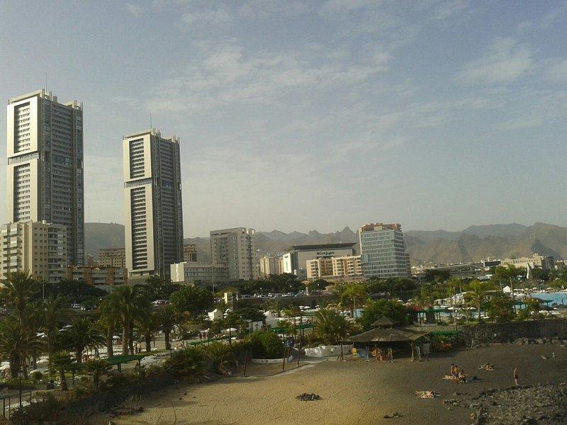 The towers of Santa Cruz