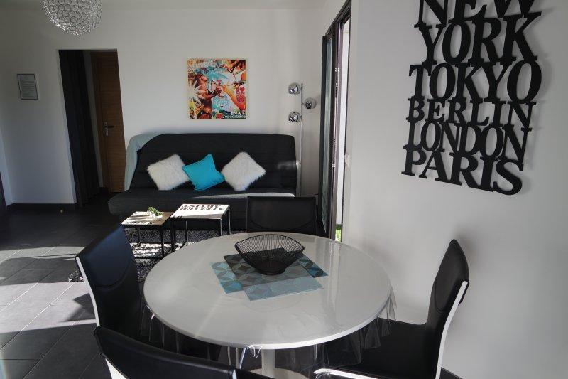 Un appartement lumineux et design