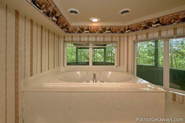 Bañera de hidromasaje en el Majestic