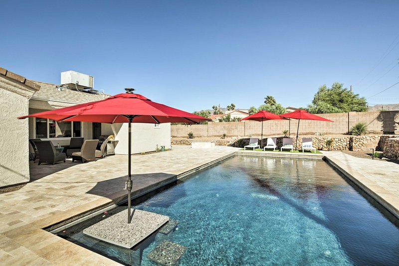 Experience Lake Havasu City like never before at this luxurious vacation rental!