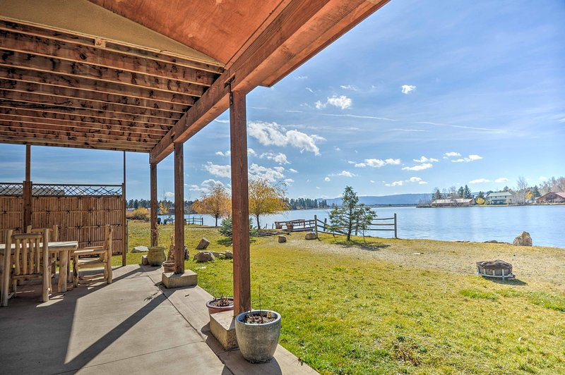An unbeatable mountain retreat awaits you at 'The Lake House,' a 4-bedroom, 2-bathroom vacation rental home in Pagosa Springs.