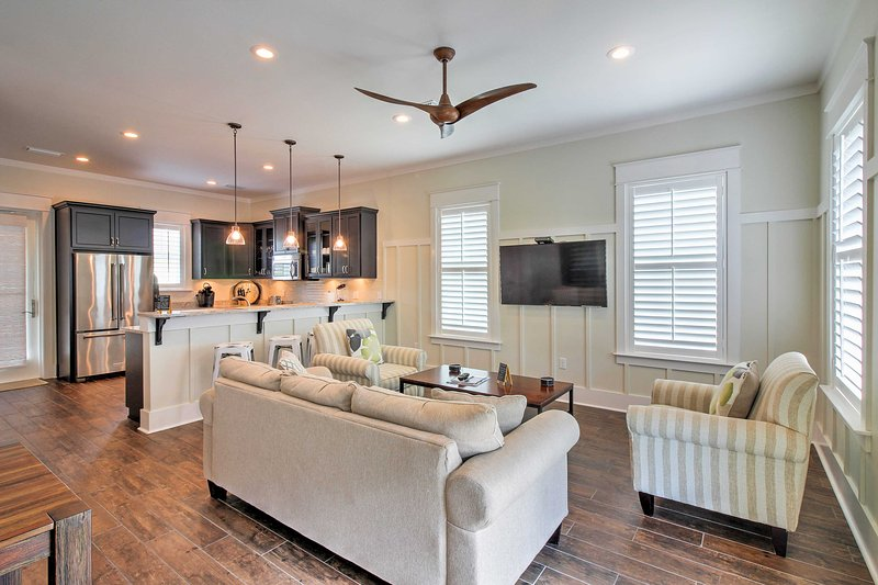 The newly built vacation rental home welcomes you to Santa Rosa Beach!