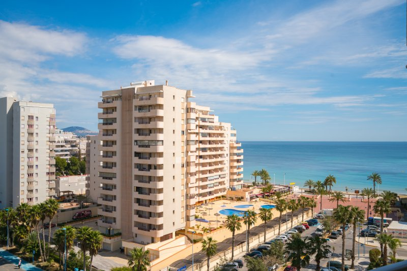 Apartamento junto playa fossa, location de vacances à Calpe
