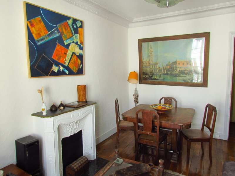Living room Dining area