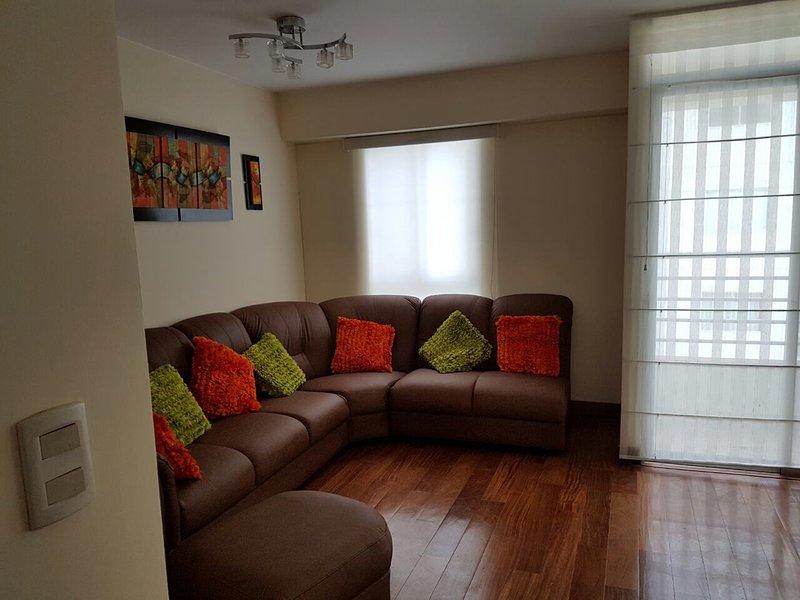 Alquiler de departamento por temporada, holiday rental in Lince