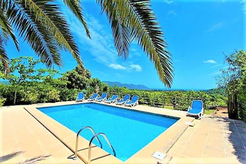 Finca ES RAFAL DE BAIX near Arta, Clear Views. Private pool. BBQ. - Villaonline, alquiler vacacional en Cala Millor