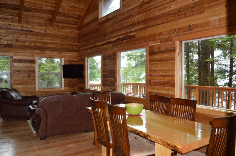 king fisher Cabin, House,car and fishing boat vacation package, vacation rental in Ketchikan