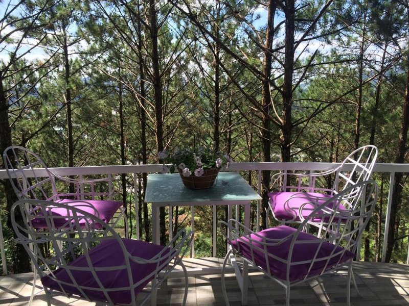 Tree house furnished on pine hill forest view, casa vacanza a Da Lat
