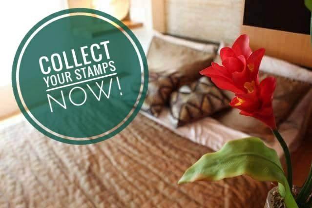 LIVRE DE UMA NOITE -1 Stamp por noite ficar -Colete 10 selos de Nov.5,2017 de abril 5,2018
