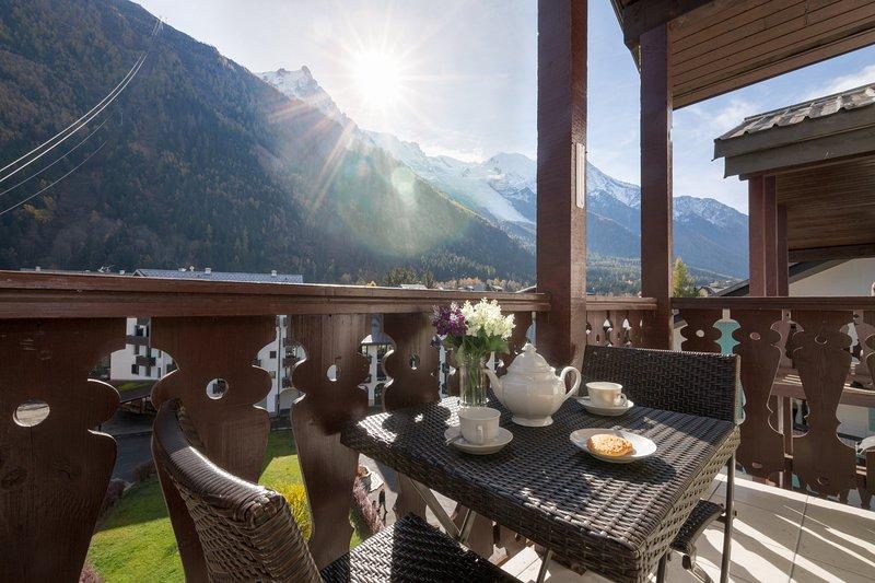 Amazing balcony view
