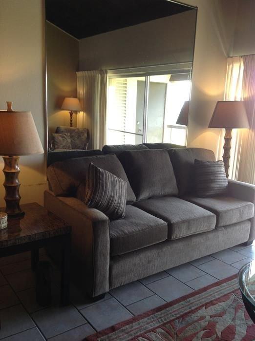 Couch, Möbel, Lampen, Innenaufnahme, Zimmer