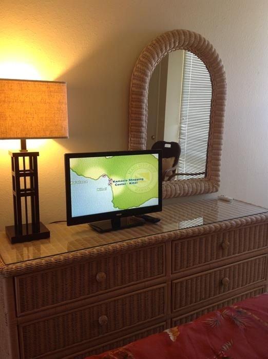 Lampe, Tischlampe, Bildschirm, TV, TV