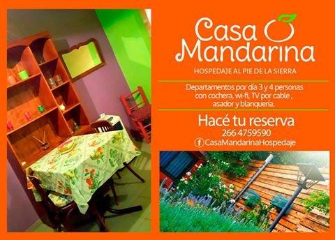 Viví la experiencia Casa Mandarina Resort (Monoambiente), holiday rental in San Luis