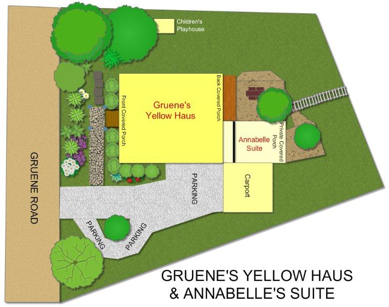 Carte mise en page de l'emplacement
