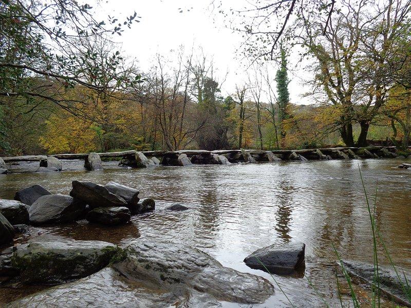 Tarr Steps, Exmoor.