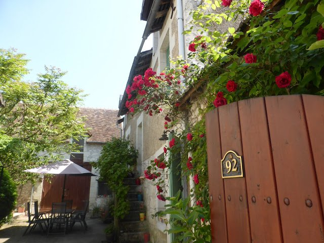 Entrance to your Loire Valley holiday home in Barrou in Centre-Val de Loire France