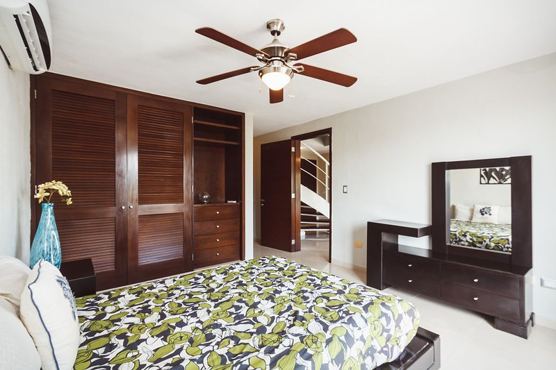 Master suite with full bed