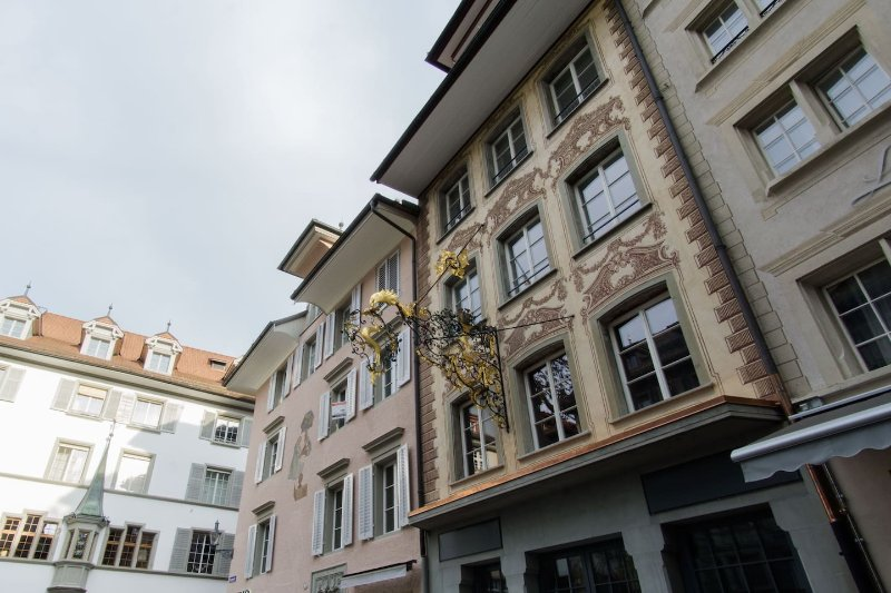 Hirschen 3 - Historic old town apartment / WiFi – semesterbostad i Lucerne