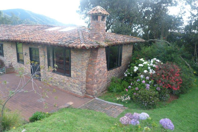 La Cabaña, cómoda, muy privada y muy linda