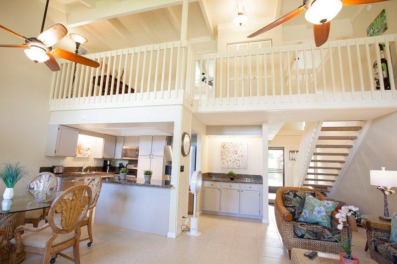Living, Dining, Loft Area