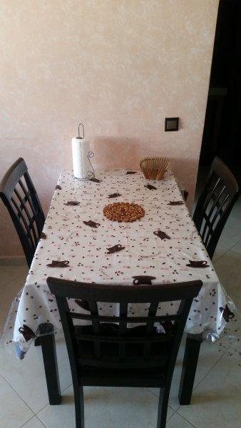 La mesa de comedor