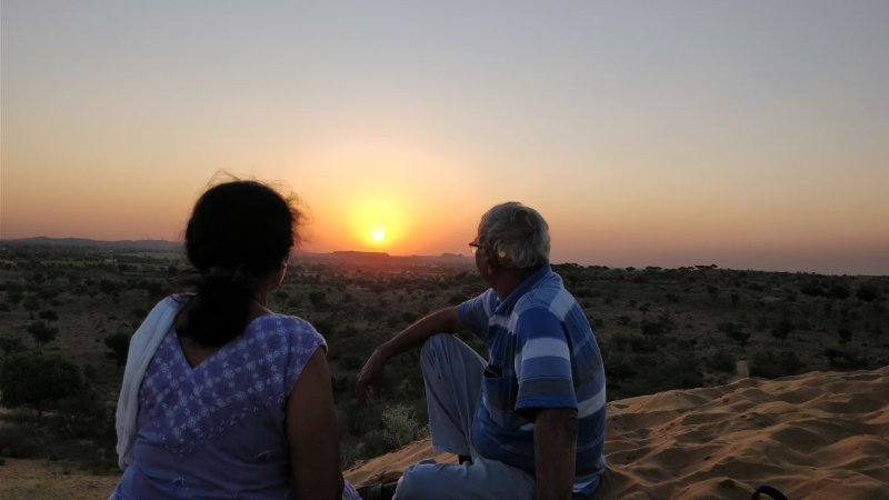 Rest is essential after camel safari, jeep safari and local sightseeing.