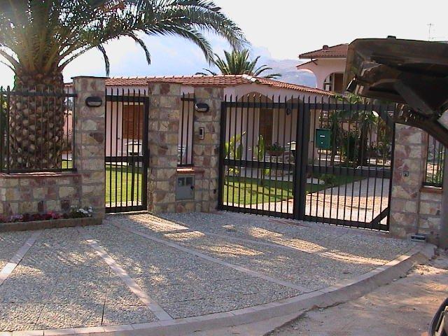 entrada para Villa