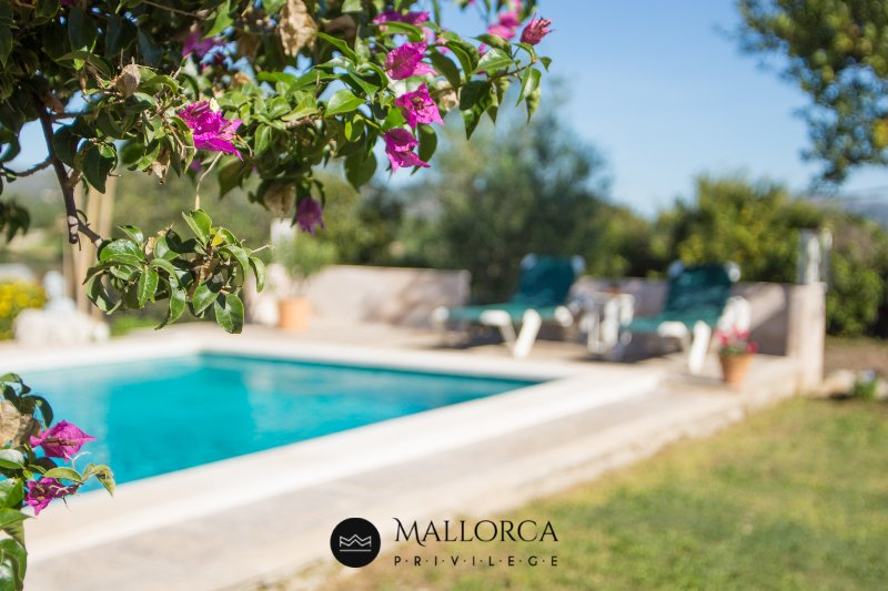Sa Carbona Villa Rural Piscina-BBQ-Porche exterior, Ideal Familias Levante, aluguéis de temporada em Arta