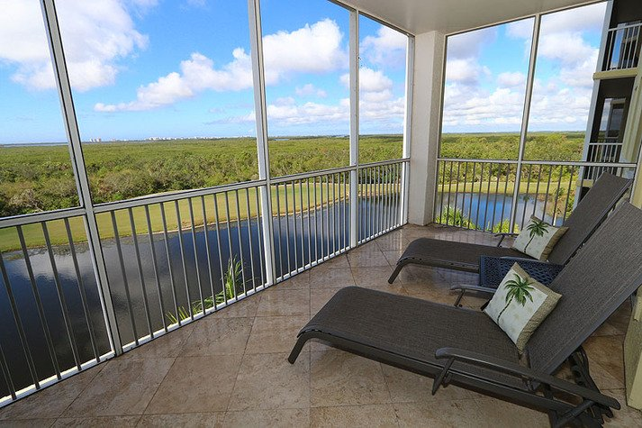 Relax on the patio with this amazing view!