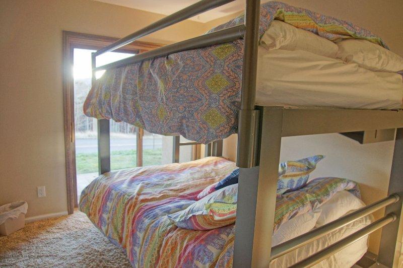 Bedroom 3 also has a patio
