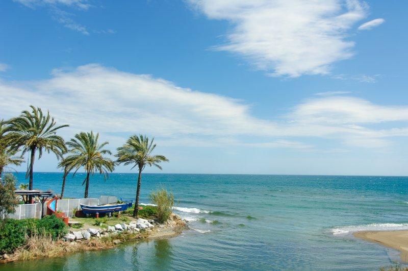vencedor Playa Nueva Andalucia do prémio Bandeira Azul