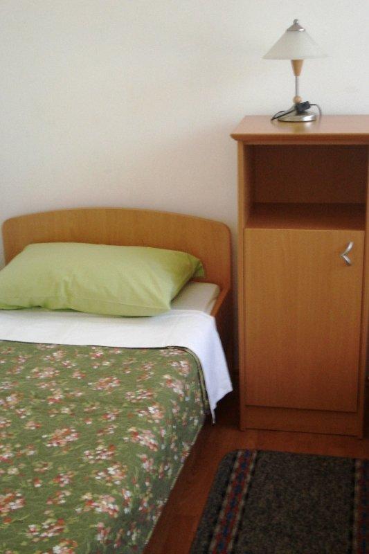 Plavi (4): dormitorio