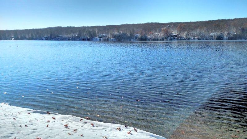 Winter on Blue Lake