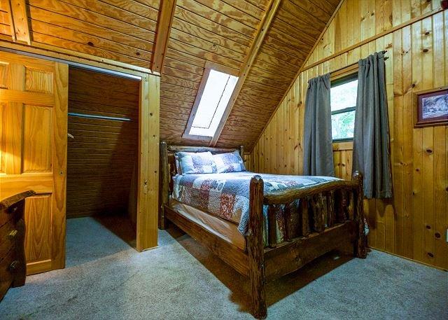 Dormitorio de la cabina de Oakridge