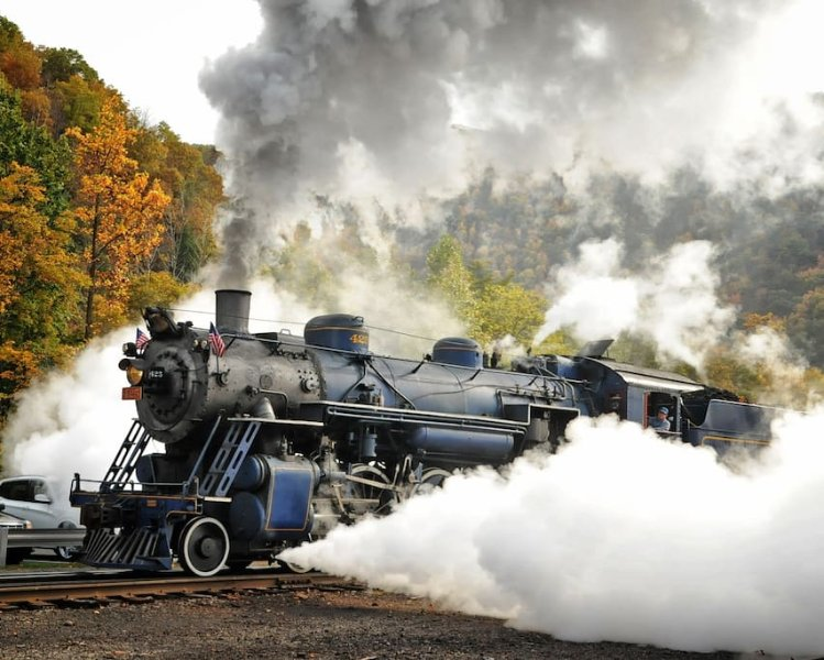 Special steam train ride