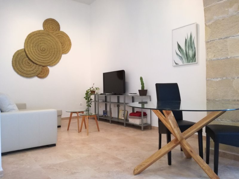 Charming Apartment with Patio + Wifi, holiday rental in Jerez De La Frontera