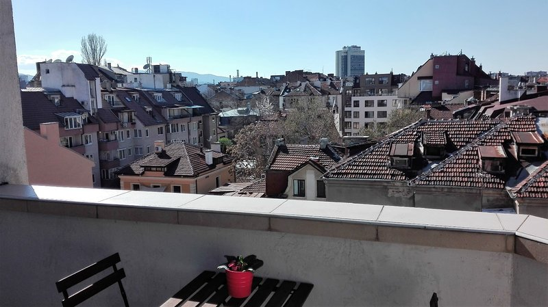 Holevitch Inn, top center, modern,cozy, fully serviced apartment., vacation rental in Sofia