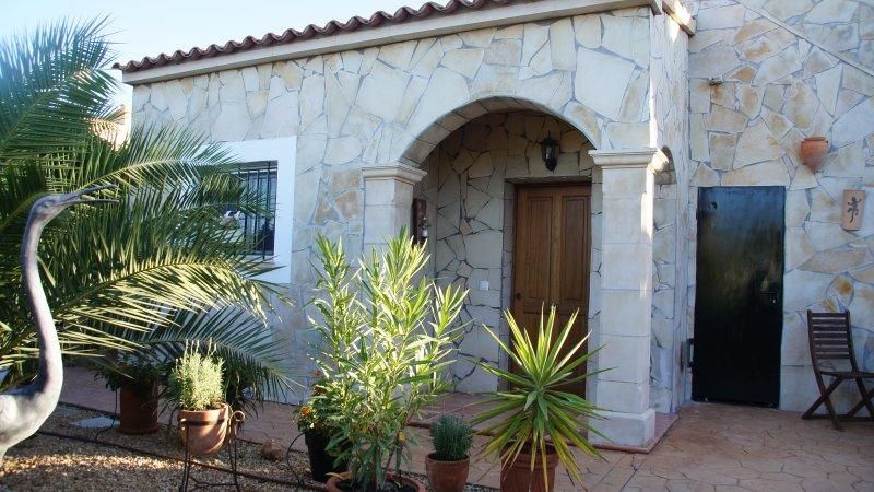 Vorgarten Blick auf die Haustür
