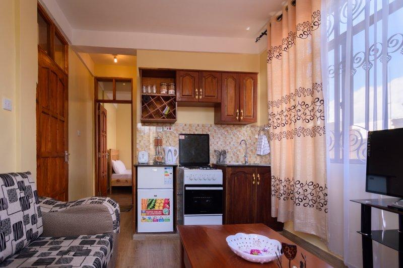 RAYAN ARUSHA APARTMENTS(3): THE 1 BEDROOM FLAT, location de vacances à Région d'Arusha