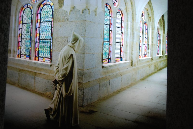 The Carthusian monastery of Serra San Bruno.